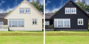 Bør du velge mørk eller lys farge på huset ditt?