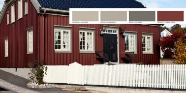 Ultimat fargeguide for deg som skal male huset!