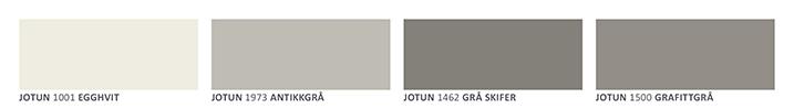 Fabrikkmalt kledning fra Jotun