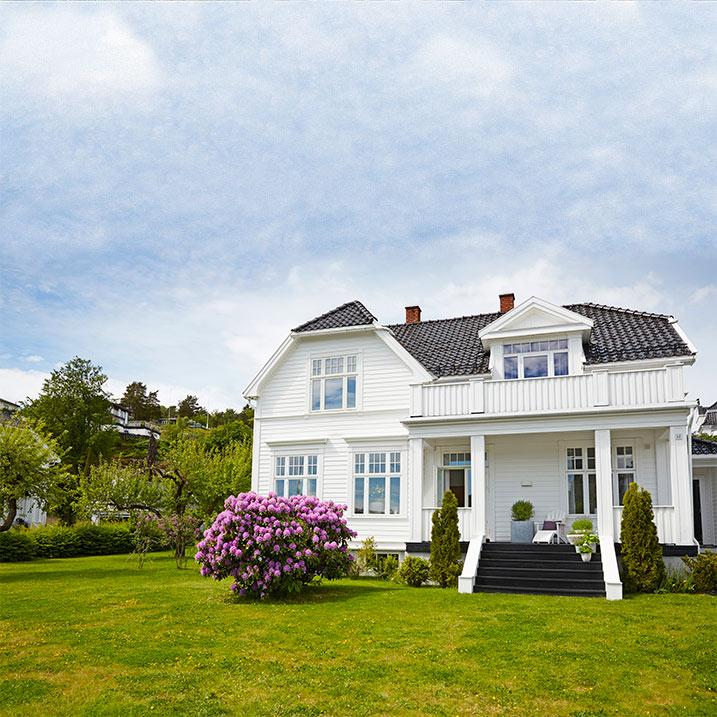 Hvite hus skal være hvite