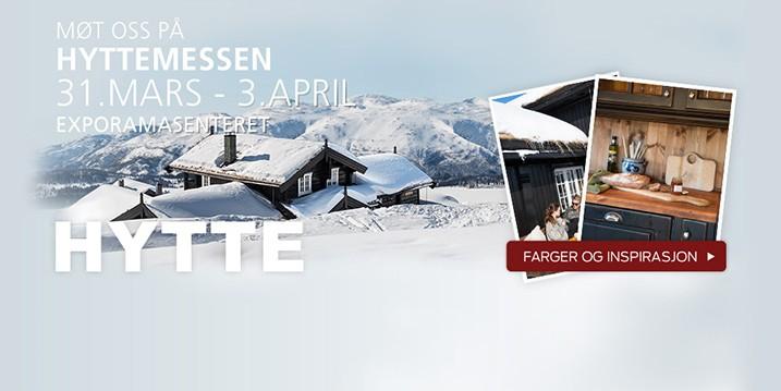 Få billetter til Hyttemessen 31. mars til 3. april