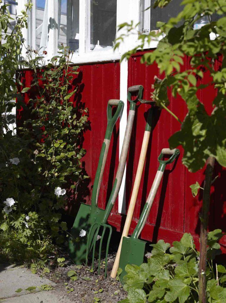 Jotun rød fasade