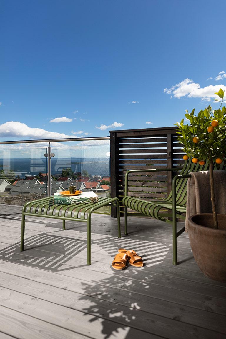 Enkelt å skifte farge på terrassen