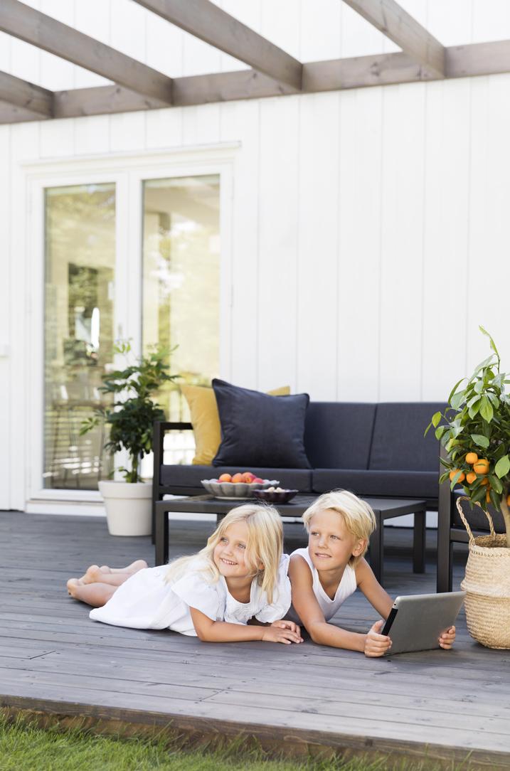 Lag gode soner på terrassen