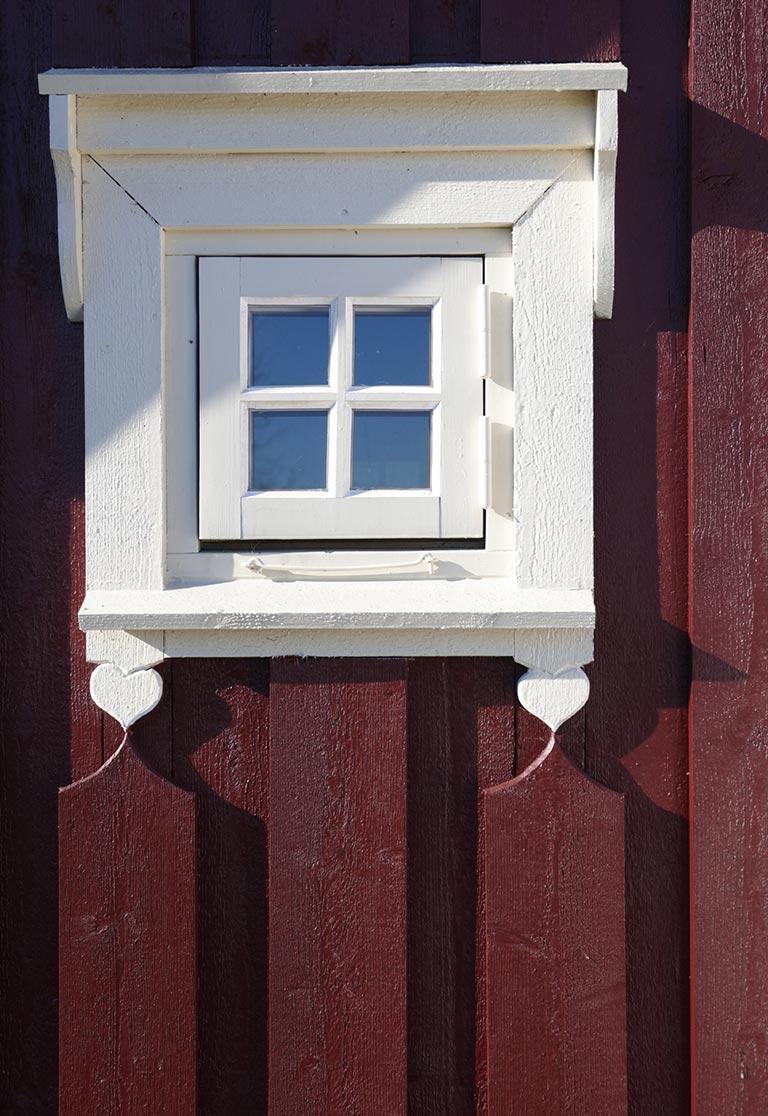 Fargeguide til vinduene