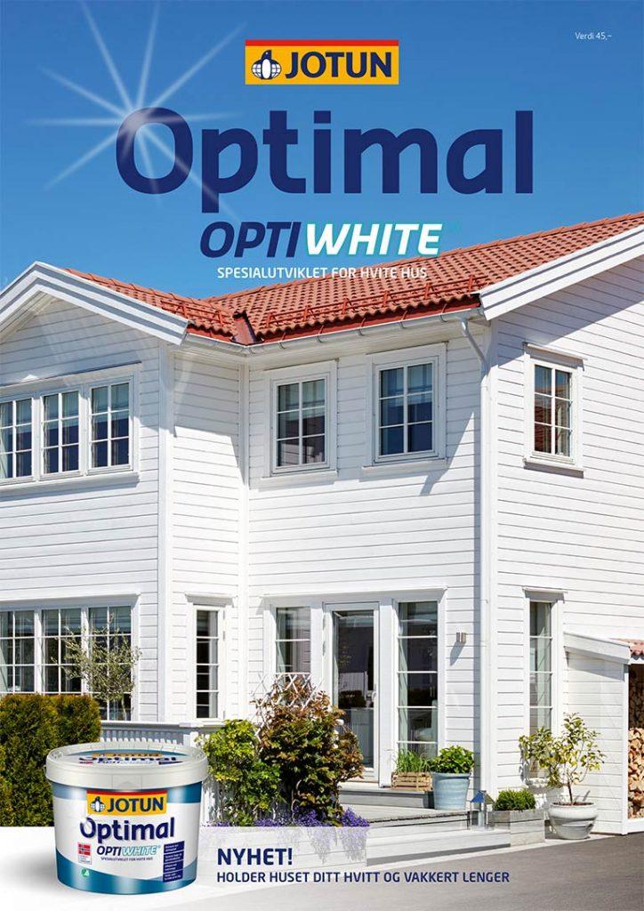 Optimal Optwhite fargekart