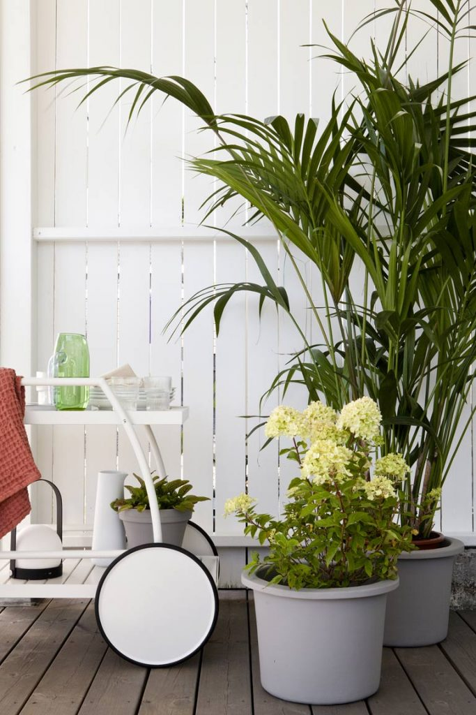 En terrasse - to stiler