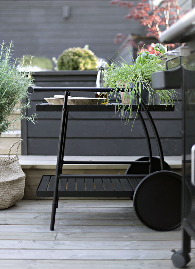 Terrassetrender 2018 Stylizimo trillebord fra IKEA,