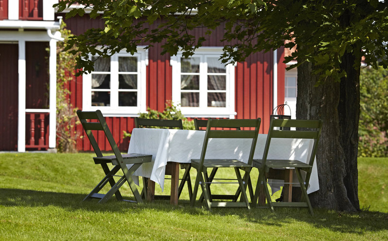 Røde farger til huset – varme og historiske nyanser