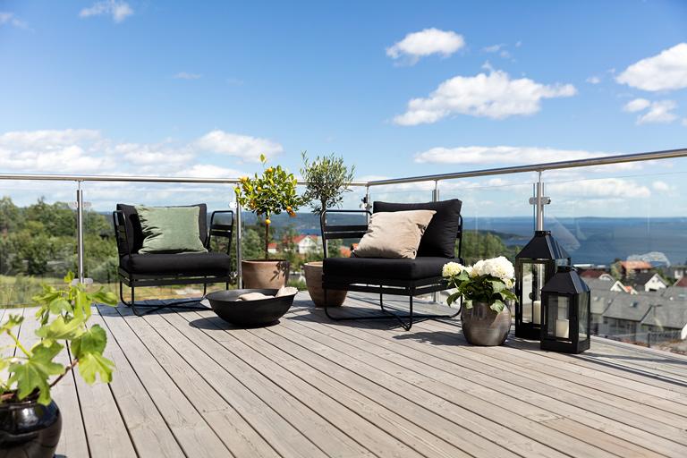 Sesongens vakreste terrassebeisfarger!