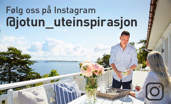 Følg Jotun Uteinspirasjon på Instagram