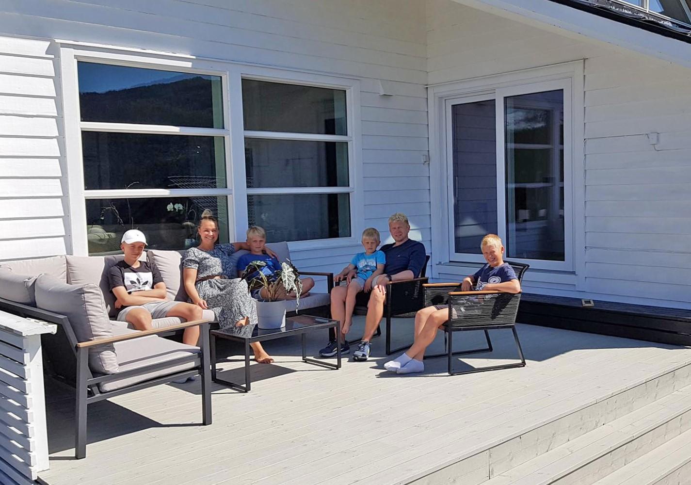 Årets vinner av nymalt hus med Drygolin Nordic Extreme